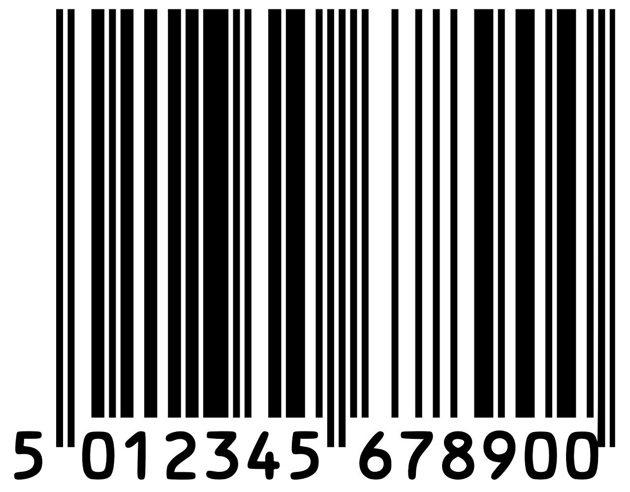 Etiquette à codes-barres